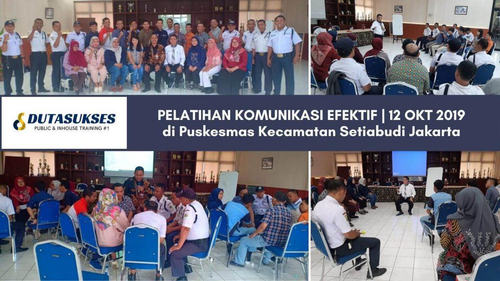 Pelatihan Komunikasi Efektif, Pelayanan Prima, Service Excellent Staff Perusahaan