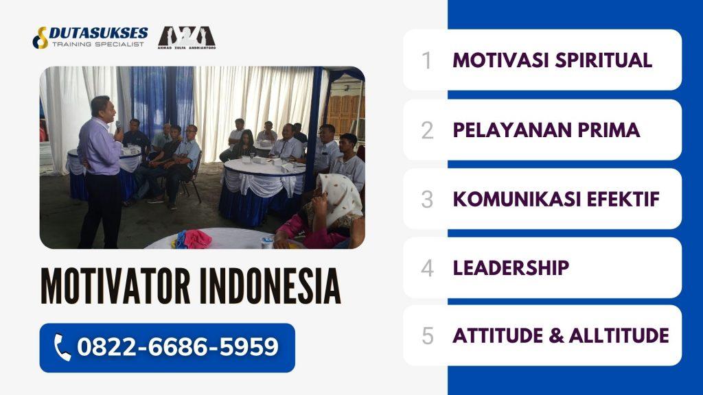 Pelatihan Motivasi di Malang