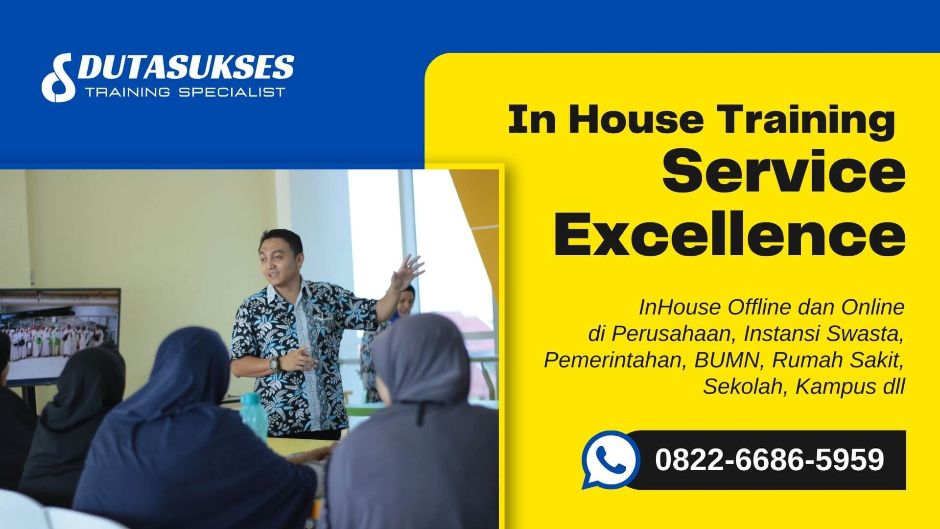 In House Training Service Excellence